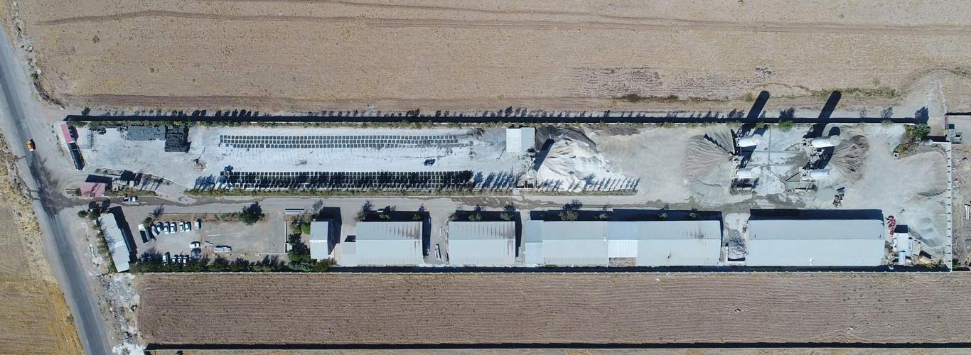 تصویر هوایی کارخانه