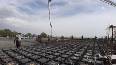 بتن ریزی سقف
